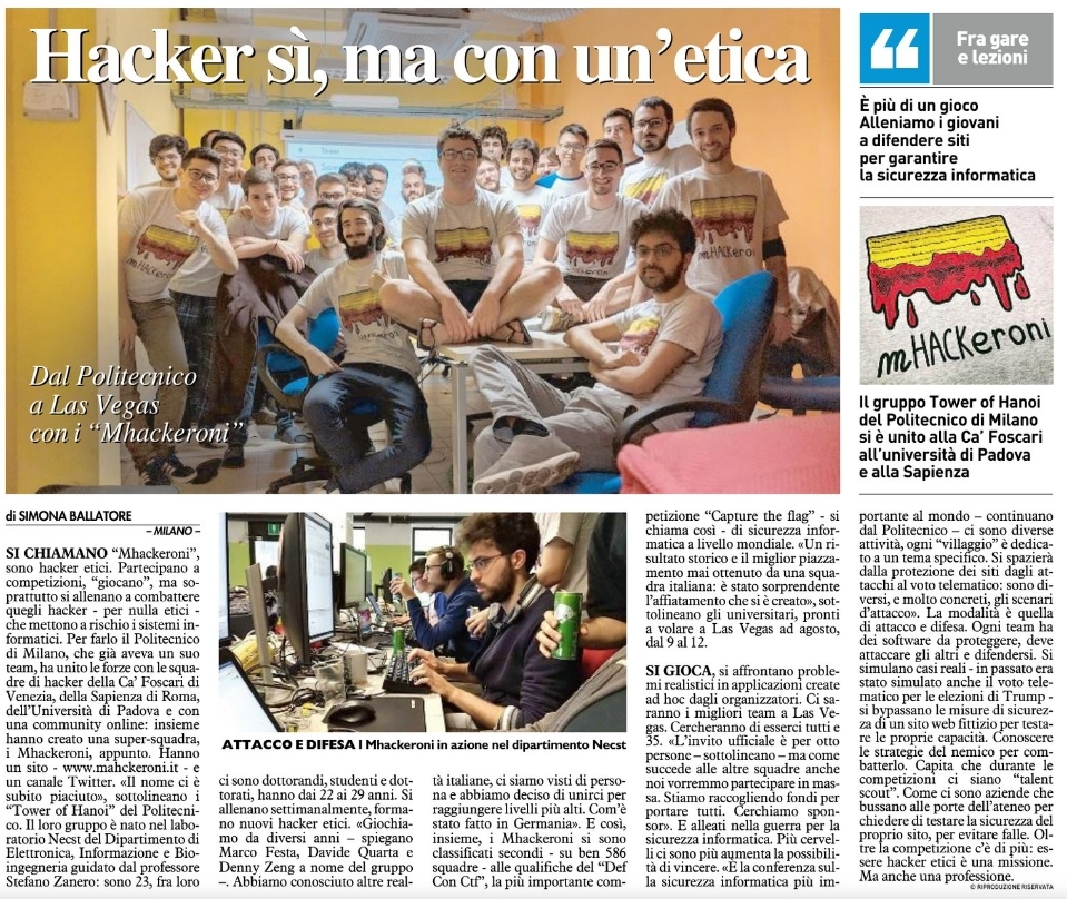 mHACKeroni team